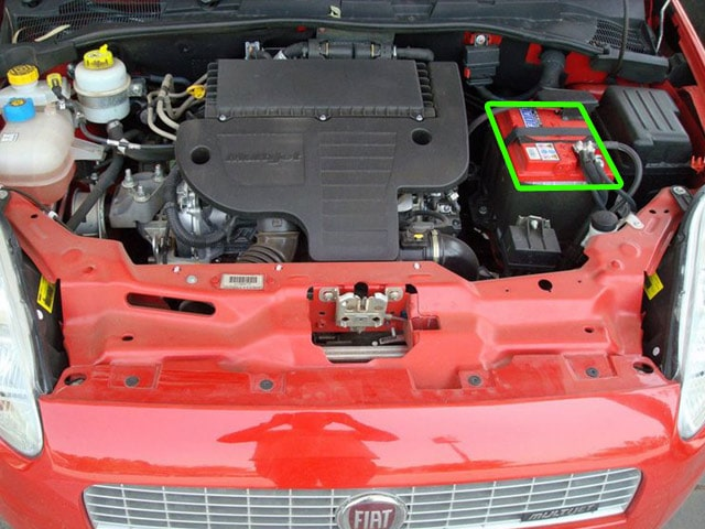 fiat grande punto car battery location abs batteries. Black Bedroom Furniture Sets. Home Design Ideas