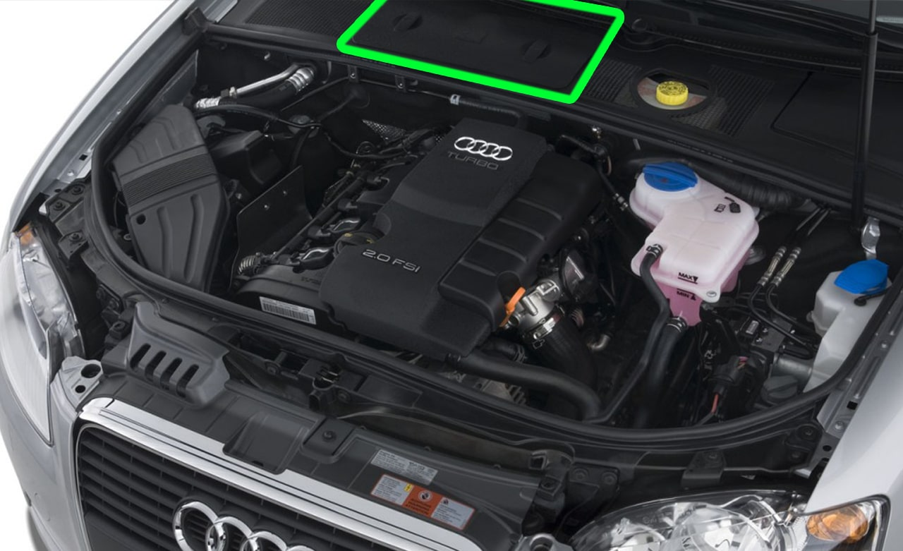 Audi A4 Car Battery Location