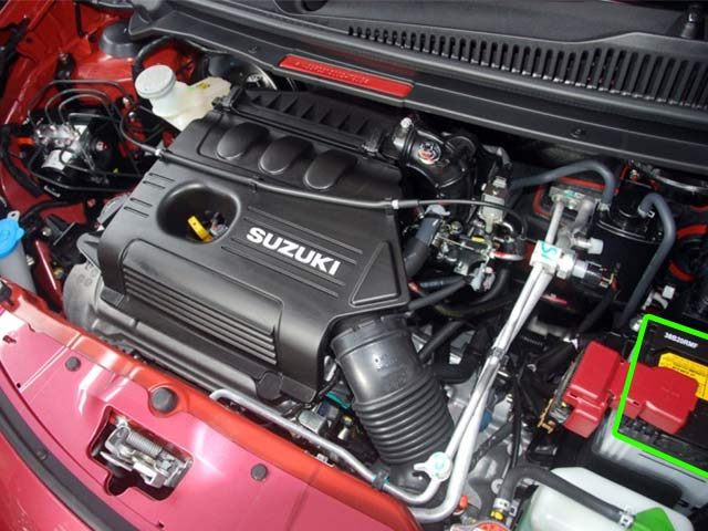 Suzuki Alto Car Battery Location