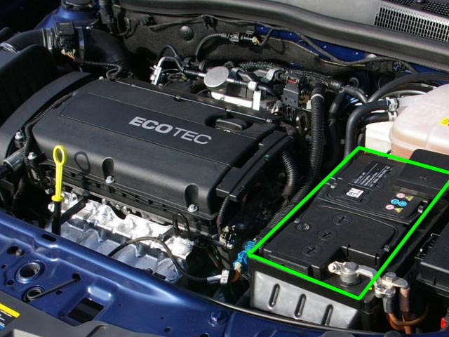 Vauxhall Astra Car Battery Location