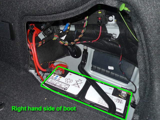 BMW Series Car Battery Location ABS Batteries - Bmw 3 series battery