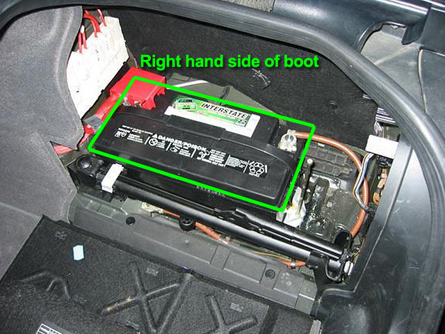 BMW 5 Series Car Battery Location | ABS Batteries
