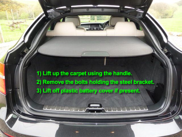 Bmw X6 Car Battery Location Car Batteries