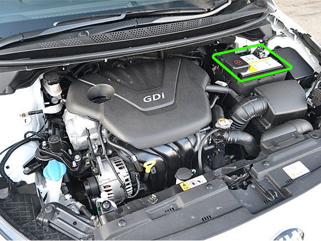 Kia Ceed Car Battery Location