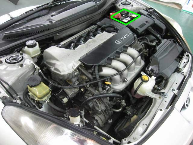 Toyota Celica Car Battery Location