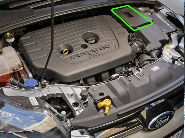 Ford Focus Car Battery Location