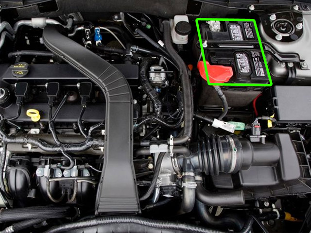 Ford Fusion Car Battery Location