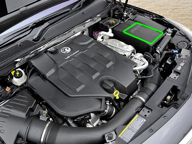 Vauxhall Insignia Car Battery Location