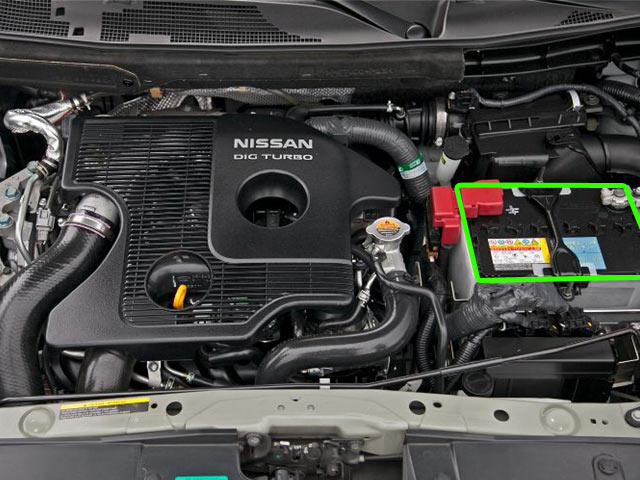nissan juke car battery location abs batteries