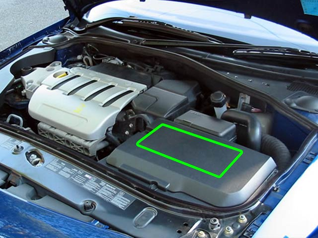Renault Laguna Car Battery Location
