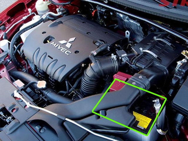Mitsubishi Lancer Car Battery Location Abs Batteries