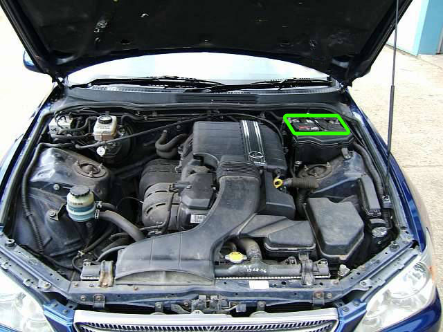 Lexus LS Car Battery Location