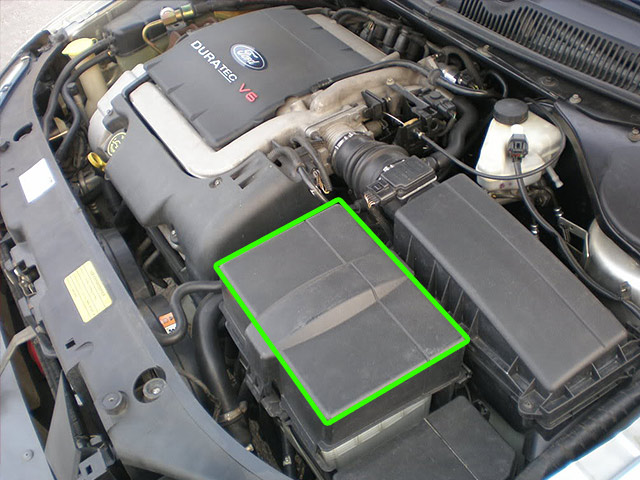 Ford Mondeo Car Battery Location