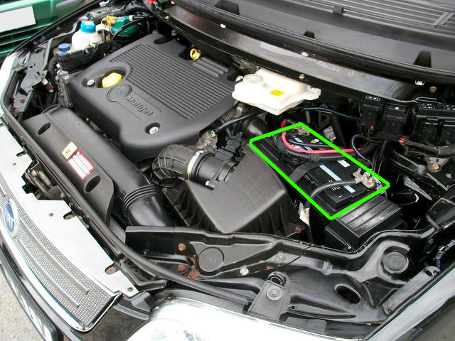 Fiat Multipla Car Battery Location