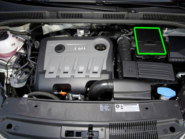 Seat Alhambra Car Battery Location