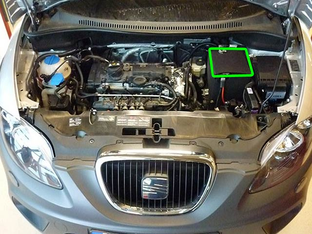 Seat Altea Car Battery Location