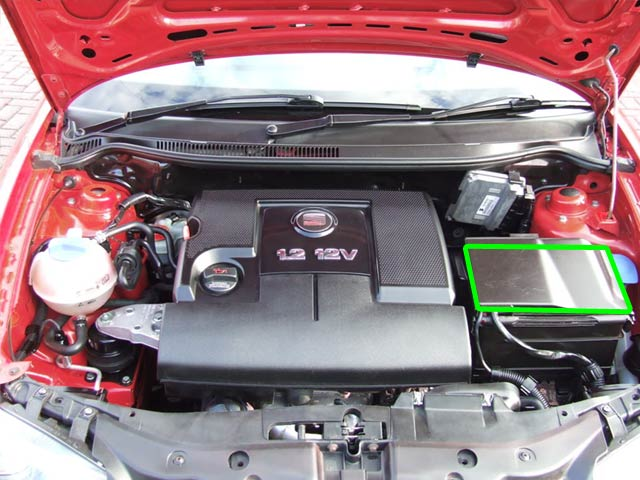 Seat Ibiza Car Battery Location