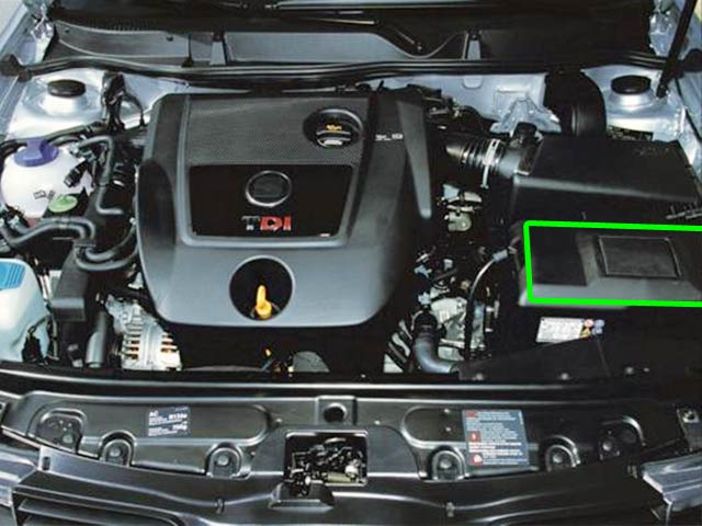 Seat Leon Car Battery Location