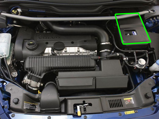 Volvo C30 Car Battery Location
