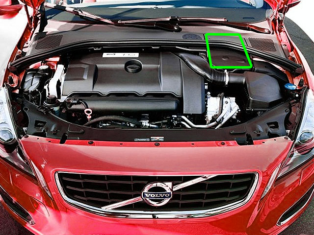 Volvo S60 Car Battery Location