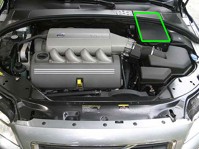 Volvo S80 Car Battery Location