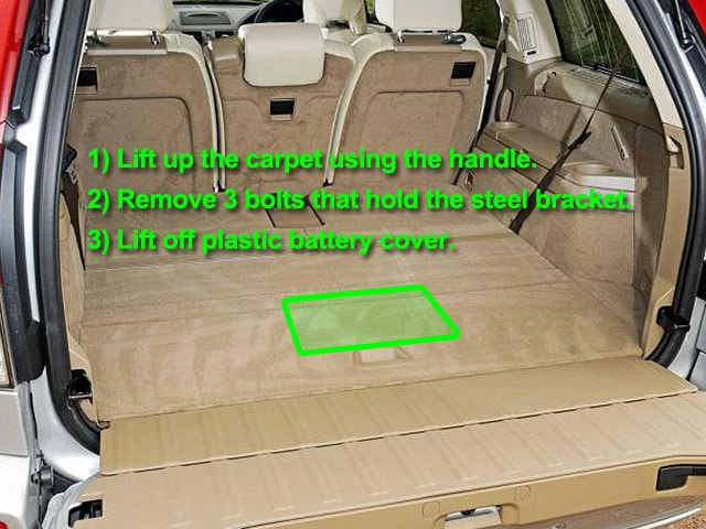 Volvo Xc90 Car Battery Location