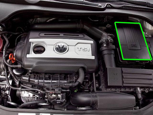 VW Eos Car Battery Location
