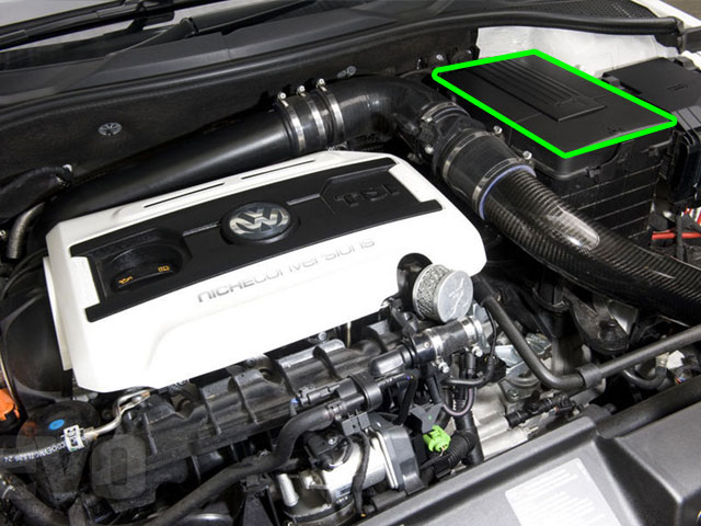 VW Scirocco Car Battery Location