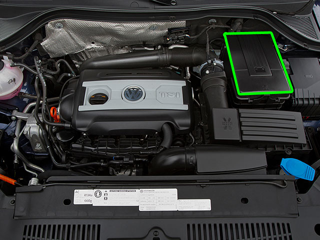 Vw Tiguan Car Battery Location