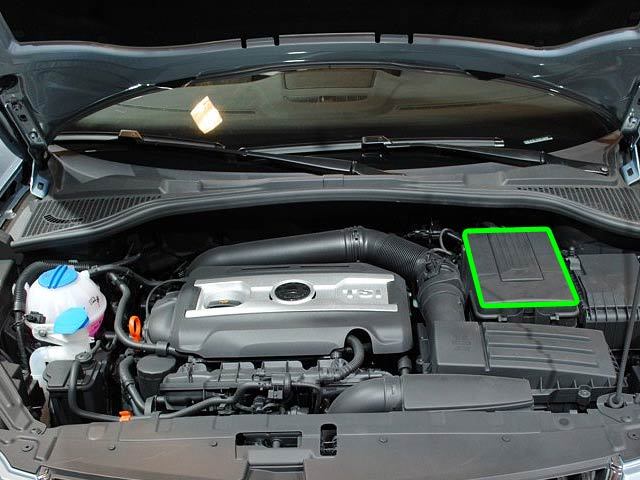 Skoda Yeti Car Battery Location