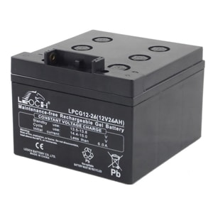 Leoch 26ah Gel Battery