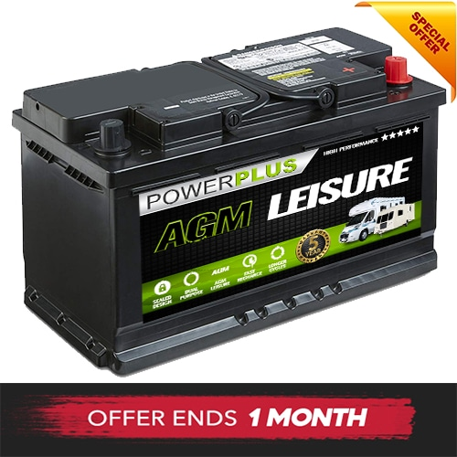 AGM LP100 leisure battery offer