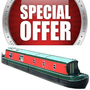 narrowboat batteries special offer