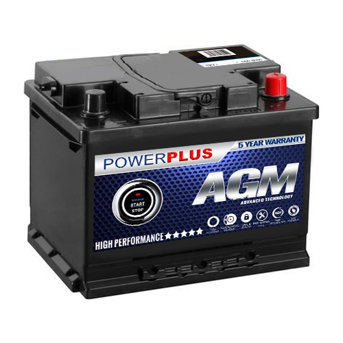 AGM Powerplus 027 Battery