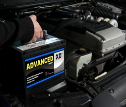 Car and Van battery fitting service