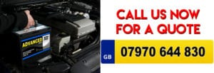 car battery fitting service image banner