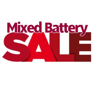 Mixed Battery Sale