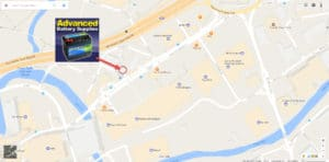 Map directions ABS Advanced Battery Supplies Stockport, UK