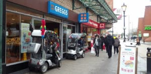 Mobility Scooter customers of Advanced Battery Supplies Stockport