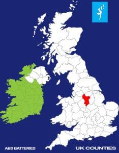 Derbyshire Batteries, Car Batteries Derbyshire