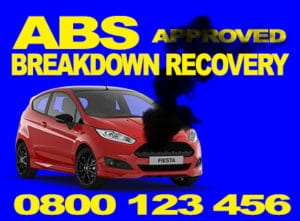 ABS breakdown recovery
