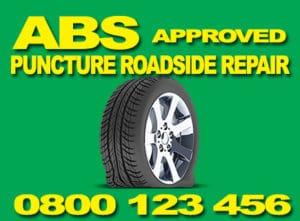 ABS tyre repairs UK