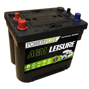 AGM S-85 spiral cell leisure battery