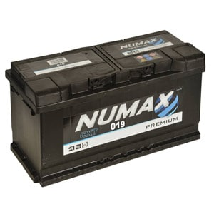 Numax 019 12v battery