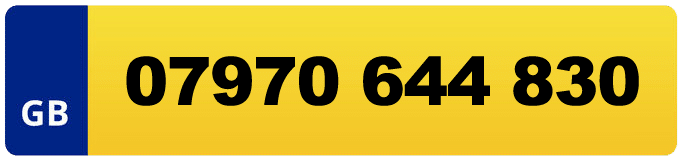 plate reg phone number