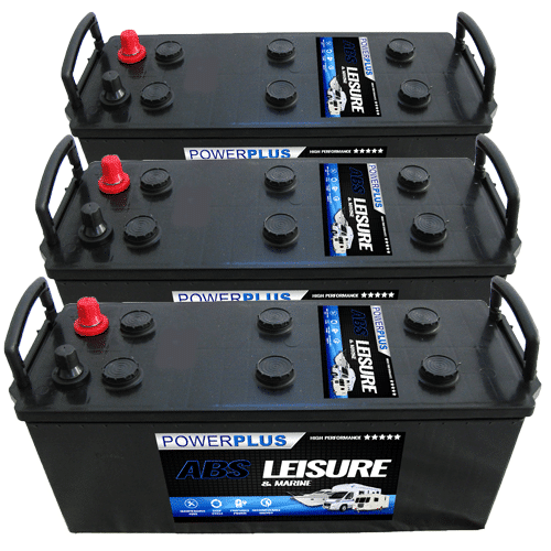 3 x L140 Batteries