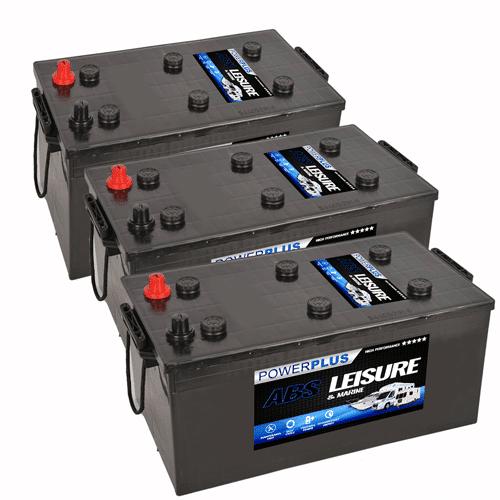 3x L230 Batteries