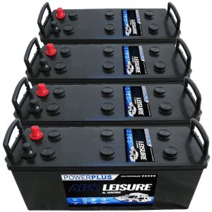 4 x L140 Batteries