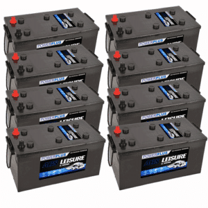 8x Leisure L230 Batteries