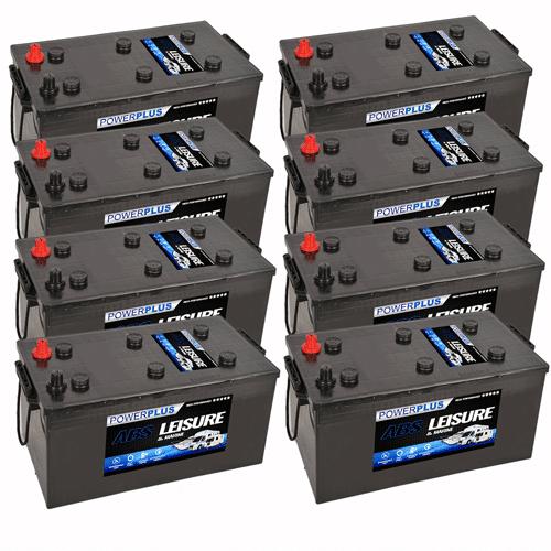 8x Leisure L230 Batteries